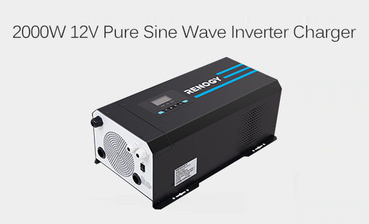 2000W 12V Pure Sine Wave Inverter Charger