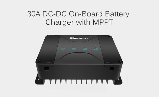 30A DC-DC On-Board Battery Charger with MPPT